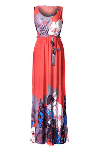 G2 Chic Women's Floral Paisley Spring and Summer Patterned (Urban Chic Dress)