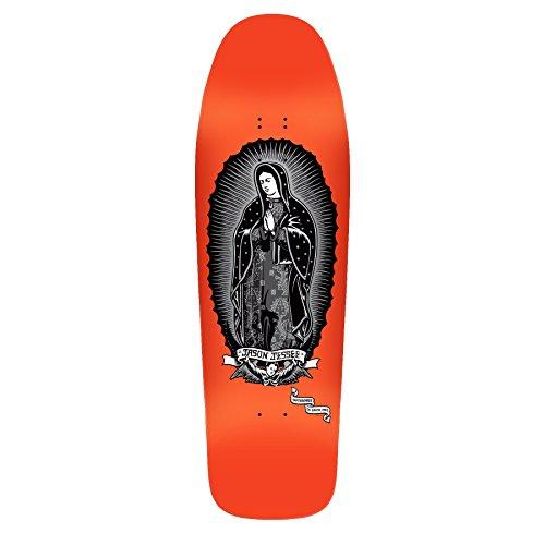 Santa Cruz Jessee Guadalupe Reissue Skateboard Deck Metallic Ink/Neon Dip 9.8in x 32.02 in