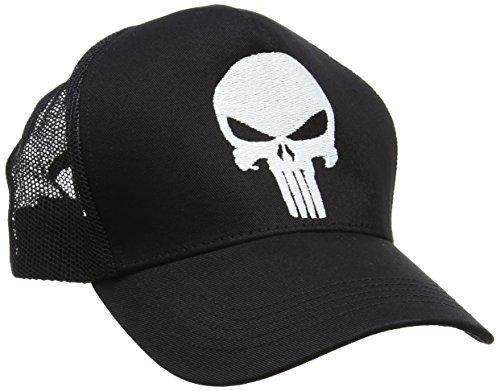 Punisher Béisbol Talla Gorra de única Adulto Negro Marvel Unisex qdt6xwq0