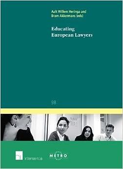 Book Educating European Lawyers (Ius Commune Europaeum) (2011-12-31)