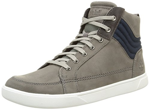 Hautes Groveton Homme Mid Grey Timberland Sneakers Gris tw4x47d