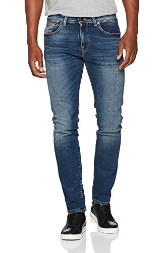 Vaqueros Denim Hombre Blue SELECTED Medium Azul HOMME para Slim 8SIwwx5qg