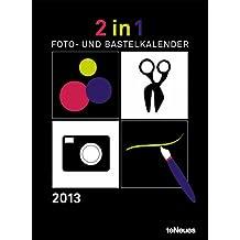 2 in 1 Foto- Bastelkalender 2013 schwarz und weiß