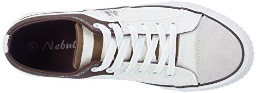 Nebulus Damer Sneaker Maritim Multi-farvet (hvid Og Brun) lHd2z