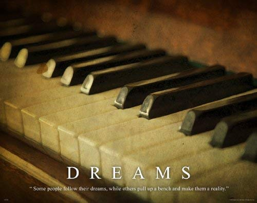 Music Instruments Motivational Poster Art Print 11x14 Piano Jazz Band Teacher Lessons Sheet Music Wall Decor Pictures