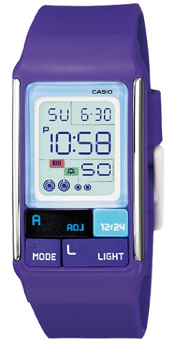 Casio Womens LDF52 6A Purple Digital