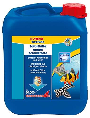 Sera Toxivec 5, 000 ml, 1.3 US Gallon Aquarium Treatments