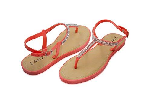 ab38ed2baa1d Sara Z Ladies T-Strap PCU Sandal