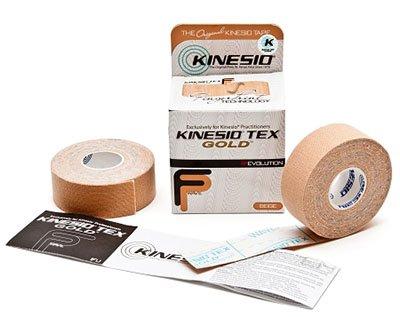 Kinesio Tape, Tex Gold FP - 1'' X 5.5 Yds, Beige - 12 Rolls / Box - 24-4875-12