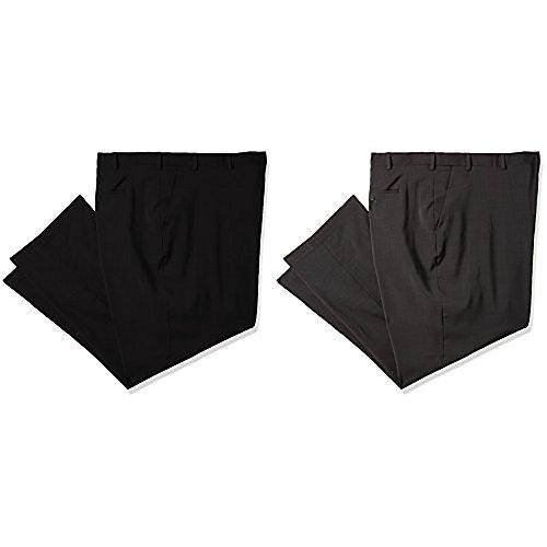 Van Heusen Men's Big and Tall Traveler Stretch Flat Front Dress Pant