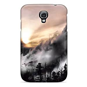 Durable Case For The Galaxy S4- Eco-friendly Retail Packaging(the Mist By Marylee Pope Iphone Wallpaper)