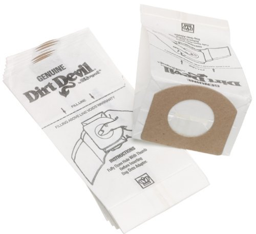 Dirt Devil Type G Vacuum Bags (20-Pack), (Dirt Devil Replacement)