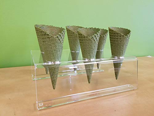 Cones (2.16'' X 5.5'') - 312 Units / Case (MATCHA GREEN TEAM) by Altimate Foods (Image #2)