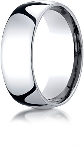 White Gold Benchmark Wedding Ring - 4
