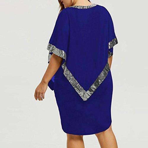 Kleider blau glitzer