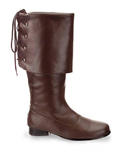 Higher-Heels Botas de Cuero Sintético Para Hombre Marrón Mattbraun 41