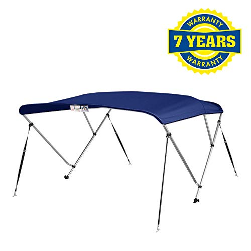4 Seasons Bimini Top Boat Cover 3 Bow 6 ft. Long in Different Sizes & Colours (36