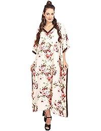 Kaftan Tunic Kimono Dress Ladies Summer Women Evening Maxi Party Plus Size 10-24