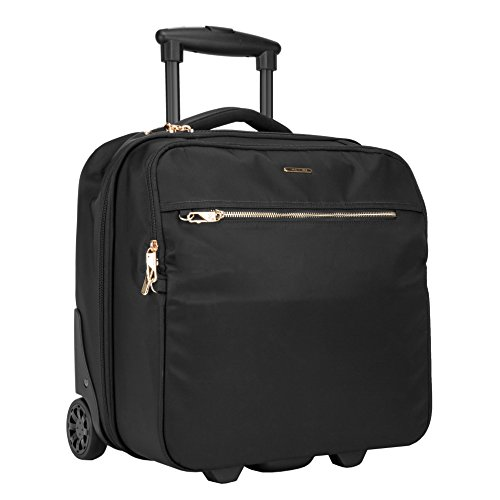 (Travelon: Anti-Theft Tailored Wheeled Underseat Carry-On Bag - Onyx)