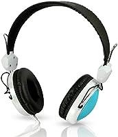 Auveach Children Adjustable Headphones Stereo Earphones for Kids Boys Girls Blue