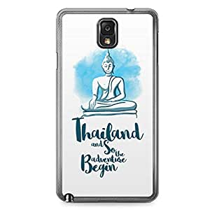 Thailand Samsung Note 3 Transparent Edge Case - Destinations of the World