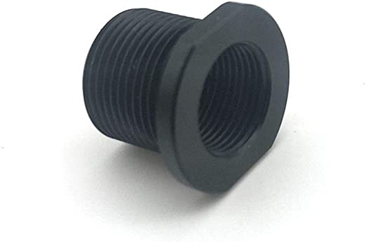 """Thread Adapter Height 5//8/"""" OD 0.825/"""" Flats 0.750/"""" For 1//2 x 28 ID to 5//8 x 24 OD"""