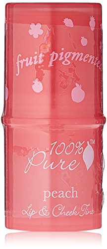 100% Pure Lip and Cheek Tints, Peach Glow
