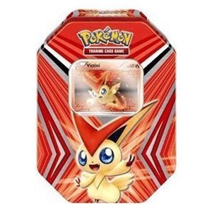 Pokemon TCG Black and White VICTINI Collection Tin