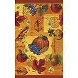 Thanksgiving Scrapbook 54en x 102en funda para mesa de plástico