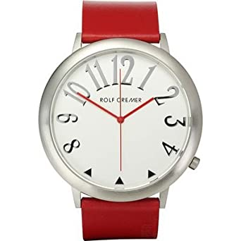 Uhr - Analog Quarz - Edelstahl Leder - Jumbo II