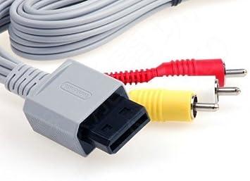8 RVL-009 est?reo A / V Cable para Nintendo Wii, modelo: Amazon.es: Electrónica