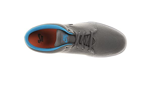 1eff4e373f Amazon.com   Nike SB Men's Satire Canvas Med Base Grey/Vivid Blue/Black  10.5 D - Medium   Shoes