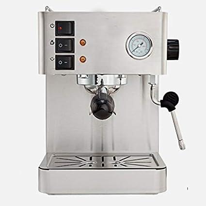 LJHA kafeiji Máquina de café Espresso, máquina de café semiautomática, máquina de café Comercial