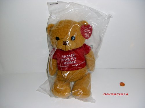 Habitat for Humanity Home Sweet Home Limited Edition Stuffed Bean Teddy Bear - Sawyer