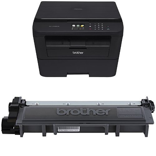 Brother HLL2380DW Wireless Laser Printer and Brother TN630 Standard Yield Toner by Brother