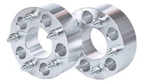 2 WHEEL SPACERS ADAPTERS   5x4.25 to 5x4.5   5x108 to 5x114.3   1.25'' THICK 32MM Ford Jaguar Lincoln Mercury Volvo by AVN Motorsports