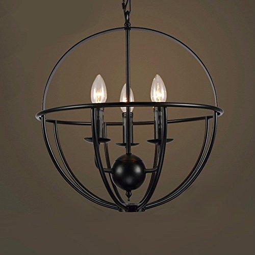 Ferro KUAIDUUD lampadari stile Liberty lampadari cafe e bar , luce ...