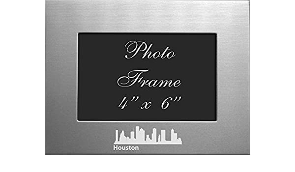 Amazoncom Lxg Inc Houston Texas 4x6 Brushed Metal Picture