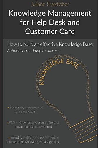 - Knowledge Management for Help Desk and Customer Care: How to build an effective Knowledge Base - a roadmap to success