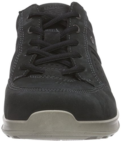 Ecco Mens Hayes Sneaker Mode Sneaker Svart
