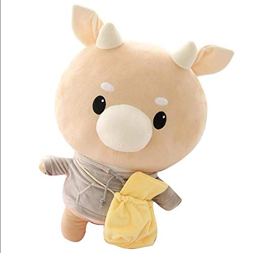 MoMoSo Store TV Series What's Wrong with Secretary Kim Hard Cow Plush Korean Drama Stuffed Pet Doll Children Toys Birthday Pillow (25CM) ()