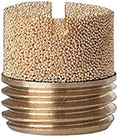 g 1//2 SW mm Riegler silenciador de sinterbronce m ranura/% en peso 568-4