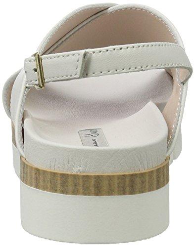 Tosca Blu Mimosa, Sandalias con Plataforma para Mujer Silber (Bianco)