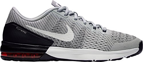 Nike Mens Air Max Typha Training Shoe (9 D(M) US, Wolf Grey/White-University Red)