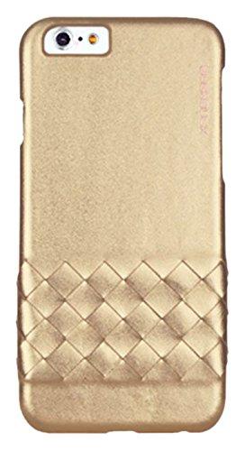 BUSHBUCK IP6ETMRG Elegant  Metallic Leder Schutzhülle für Apple iPhone 6/6s