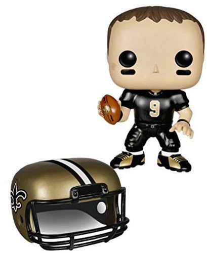 Funko POP NFL: Wave 1 - Drew Brees Action - Head Mom Bobble Team
