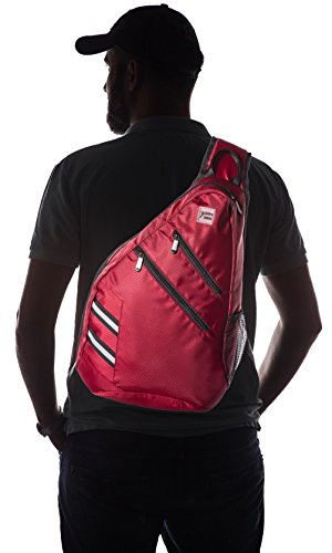 Sling Bag Crossbody Backpack Shoulder Bag - Travel Backpack Multipurpose Daypack for Men & Women
