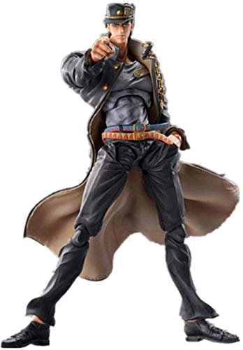 brandless Jojo s Bizarre Adventure Figura Kujo Jotaro Figura Anime Figura Anime Estatui