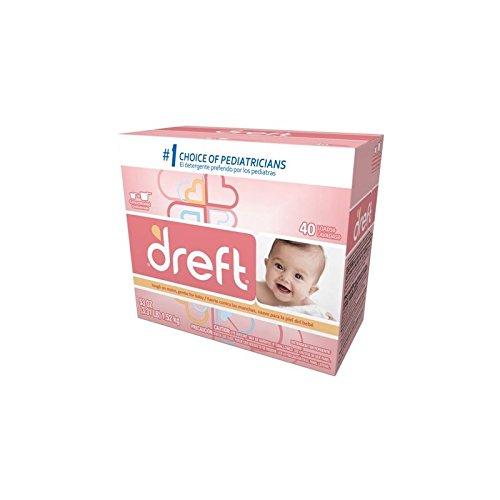 Proctor & Gamble Dreft Powder Laundry Detergent, 53 oz Bottle, 4 Bottles Per Case by Proctor & Gamble