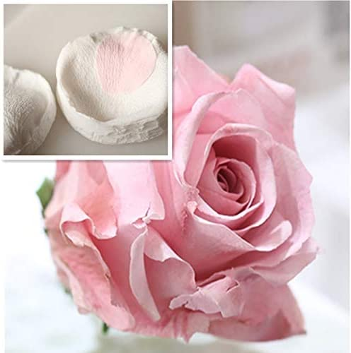 N// A Rose Petals Veiner Sugar Tool Meridians Flower Silicone Cake Mold Simulation Gum Paste Mould